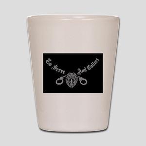 bond-teeF[1] - Copy Shot Glass